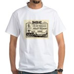 Gold Express Clipper Ships White T-Shirt