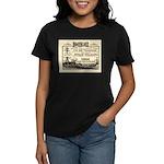 Gold Express Clipper Ships Women's Dark T-Shirt