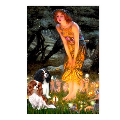 Fairies & Cavalier Postcards (Package of 8)