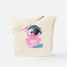 Cute Goofkins Piggy Pig Pirate Tote Bag