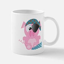 Cute Goofkins Piggy Pig Pirate Mug