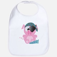 Cute Goofkins Piggy Pig Pirate Bib