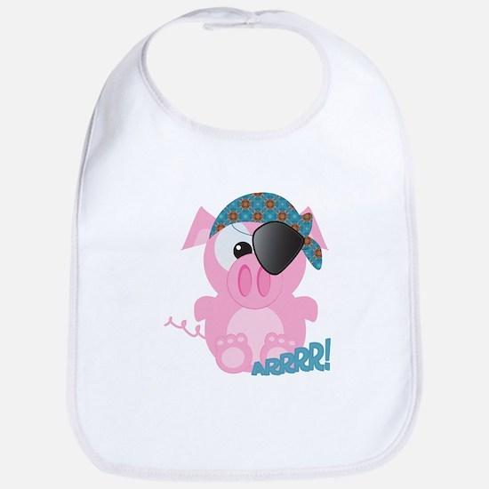 Cute Goofkins Piggy Pig Pirate Bib