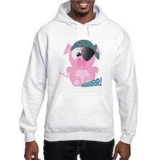 Cute Goofkins Piggy Pig Pirate Hoodie