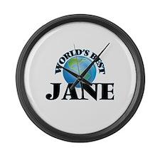 World's Best Jane Large Wall Clock