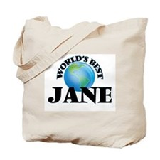 World's Best Jane Tote Bag