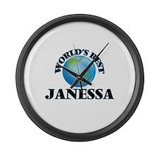 World's Best Janessa Large Wall Clock