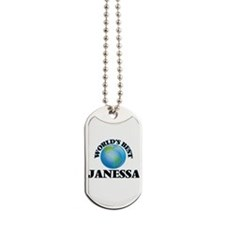 World's Best Janessa Dog Tags