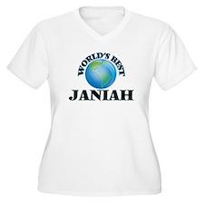 World's Best Janiah Plus Size T-Shirt