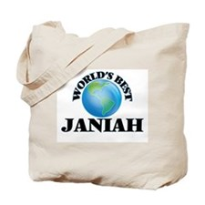 World's Best Janiah Tote Bag
