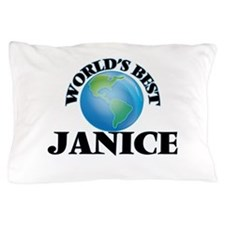 World's Best Janice Pillow Case