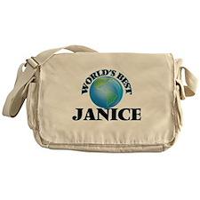 World's Best Janice Messenger Bag