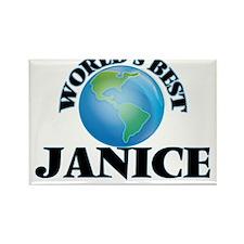 World's Best Janice Magnets