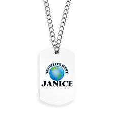 World's Best Janice Dog Tags