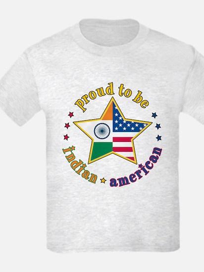 Kids Grey T-Shirt/Proud to Be Indian