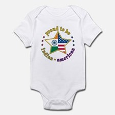 Infant Bodysuit/Proud to Be Indian