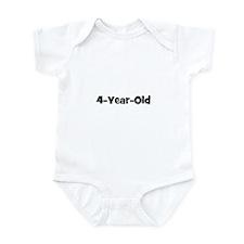 4-Year-Old Infant Bodysuit