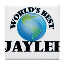 World's Best Jaylee Tile Coaster