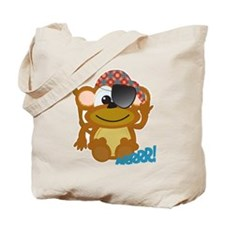 Cute Goofkins Monkey Pirate Tote Bag