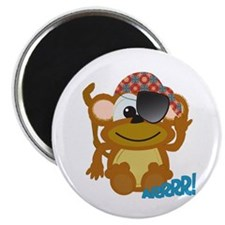 Cute Goofkins Monkey Pirate Magnet