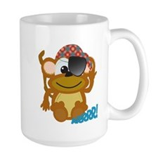 Cute Goofkins Monkey Pirate Mug