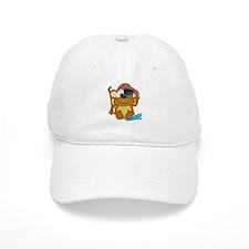 Cute Goofkins Monkey Pirate Baseball Cap