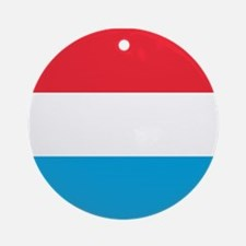 Flag of Luxembourg Ornament (Round)