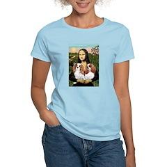 Mona's 2 Cavaliers Women's Light T-Shirt