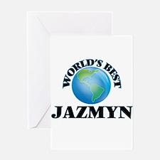 World's Best Jazmyn Greeting Cards