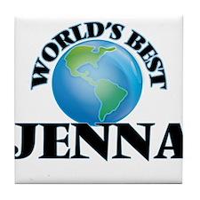 World's Best Jenna Tile Coaster