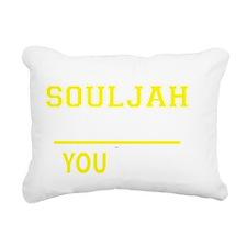 Funny Souljah Rectangular Canvas Pillow