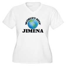 World's Best Jimena Plus Size T-Shirt
