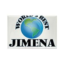 World's Best Jimena Magnets