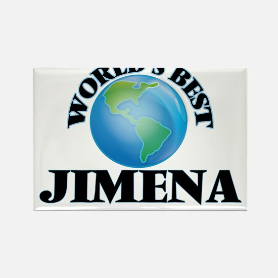 World's Best Jimena Magnets