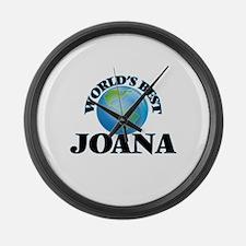 World's Best Joana Large Wall Clock