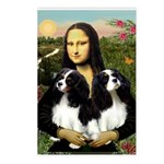 Mona's 2 Cavaliers Postcards (Package of 8)