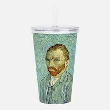 Vincent Van Gogh Self Portrait Acrylic Double-wall