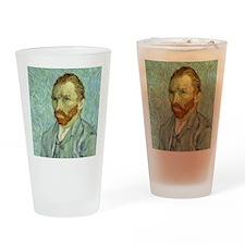 Vincent Van Gogh Self Portrait Drinking Glass