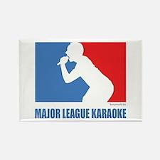 ML Karaoke 1 Rectangle Magnet (10 pack)