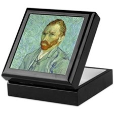 Vincent Van Gogh Self Portrait Keepsake Box
