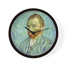 Vincent Van Gogh Self Portrait Wall Clock