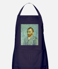 Vincent Van Gogh Self Portrait Apron (dark)