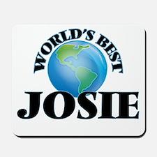 World's Best Josie Mousepad