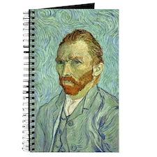 Vincent Van Gogh Self Portrait Journal