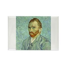 Vincent Van Gogh Self Portrait Magnets