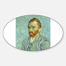 Vincent Van Gogh Self Portrait Decal