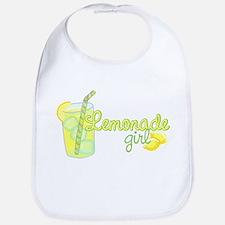 Lemonade Girl Bib