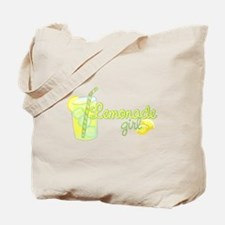 Lemonade Girl Tote Bag