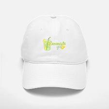Lemonade Girl Baseball Baseball Cap