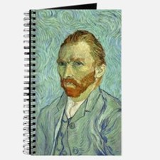 Vincent Van Gogh Self Portrait Journal